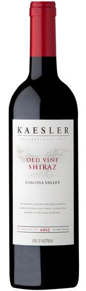 Old vine shiraz red cap