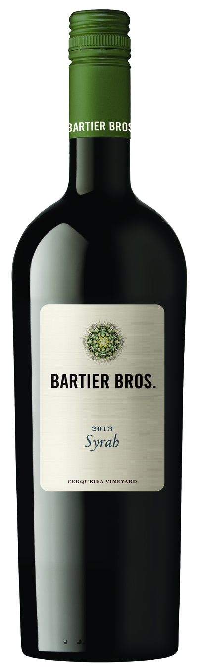 Bartier Bros Syrah 2013
