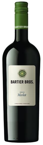 Bartier Bros Merlot 2013