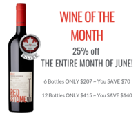 Wine of the month june 19