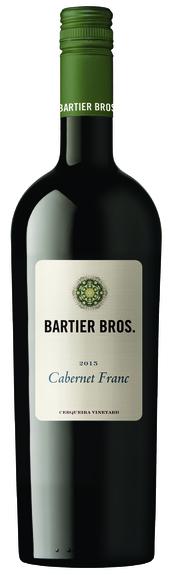 Bartier Bros Cabernet Franc 2015