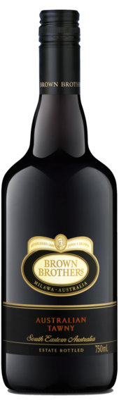 Bottle of Brown Brothers' Australian Tawny
