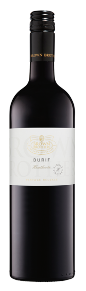 Bottle of Brown Brothers' Vintage Release Durif