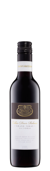 Bottle of Brown Brothers' Cellar Door Release Grand Tokay