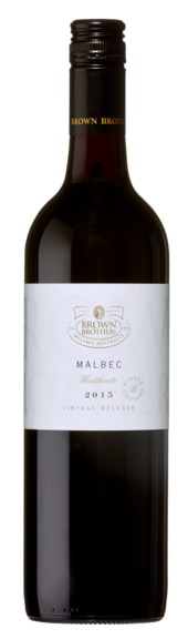 Bottle of Brown Brothers' Vintage Release Malbec