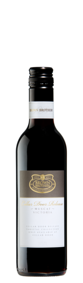 Bottle of Brown Brothers' Cellar Door Release Muscat
