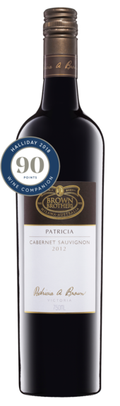 Bottle of Brown Brothers'  Patricia Cabernet Sauvignon