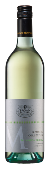 Bottle of Brown Brothers' Members Collection Sauvignon Blanc