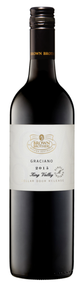 Bottle of Brown Brothers' Cellar Door Release Graciano