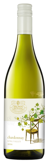 Bottle of Brown Brothers' 18 Eighty Nine Chardonnay