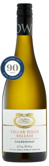 Bottle of Brown Brothers' Cellar Door Release Chardonnay