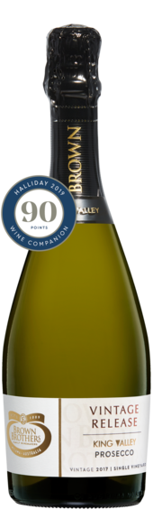 Bottle of Brown Brothers' Vintage Release Prosecco