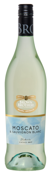 Bottle of Brown Brothers' Moscato & Sauvignon Blanc