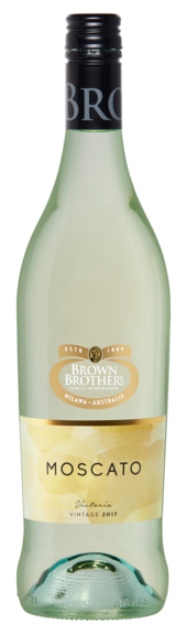 Bottle of Brown Brothers' Moscato