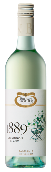 Bottle of Brown Brothers' 1889 Sauvignon Blanc