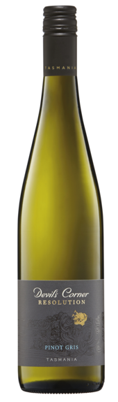 Bottle of Brown Brothers' Resolution Pinot Gris