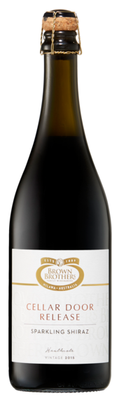 Bottle of Brown Brothers' Cellar Door Release Sparkling Shiraz