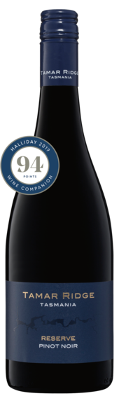 Bottle of Brown Brothers' Reserve Pinot Noir
