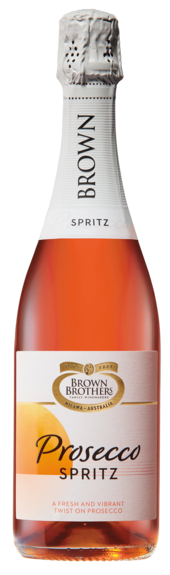 Bottle of Brown Brothers' Prosecco Spritz
