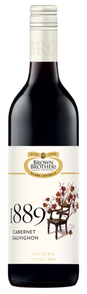 Bottle of Brown Brothers' 1889 Cabernet Sauvignon
