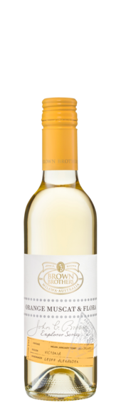 Bottle of Brown Brothers' John G. Brown Explorer Series Orange Muscat & Flora