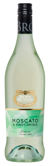 Bottle of Brown Brothers' Moscato Pinot Grigio