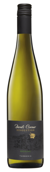 Bottle of Brown Brothers' Resolution Riesling