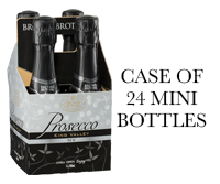 Bottle of Brown Brothers' Prosecco Minis Case