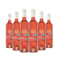 Bottle of Brown Brothers' 1889 Dry Rose 2017 6 Pack