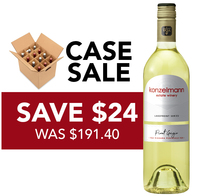 Case Sale - Pinot Grigio - Save $24